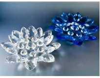 Лотос хрустальный 16 лепестков Цветок большой
