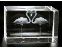 Лазерная голограмма в хрустале
