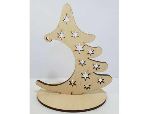 Украшение новогоднее Елка со звездочками дерево