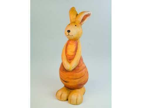 Фигурка керамическая Заяц Морковушка