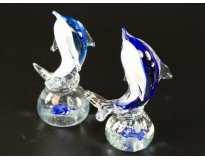 Фигурка стекляннаяиДельфинчик на волне