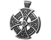 Кельтский Крест / Кельтский Амулет / Серебрение