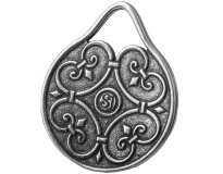 Капля Жизни / Кельтский Амулет / Серебрение