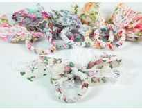 Резинка для волос Бантик Кружево Цветочек 6 цветов