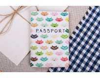 Обложка на паспорт Кошки  Экокожа